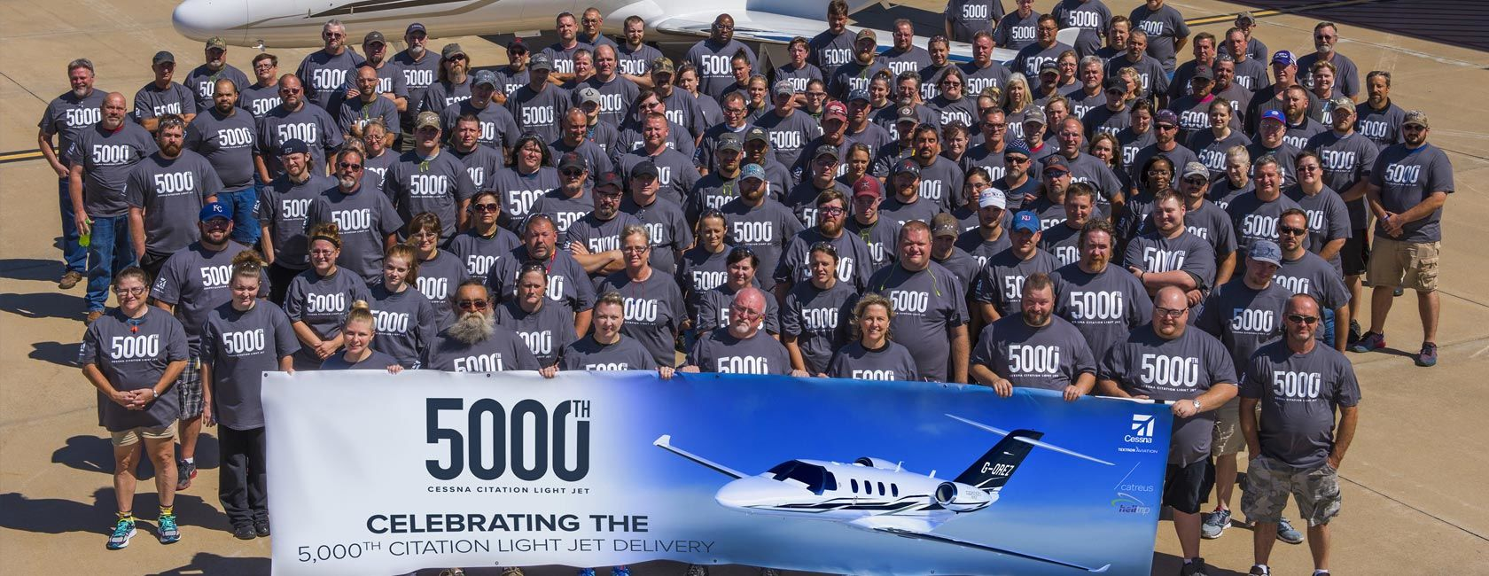 Cessna Celebrates 5,000th Citation Light Jet Delivery