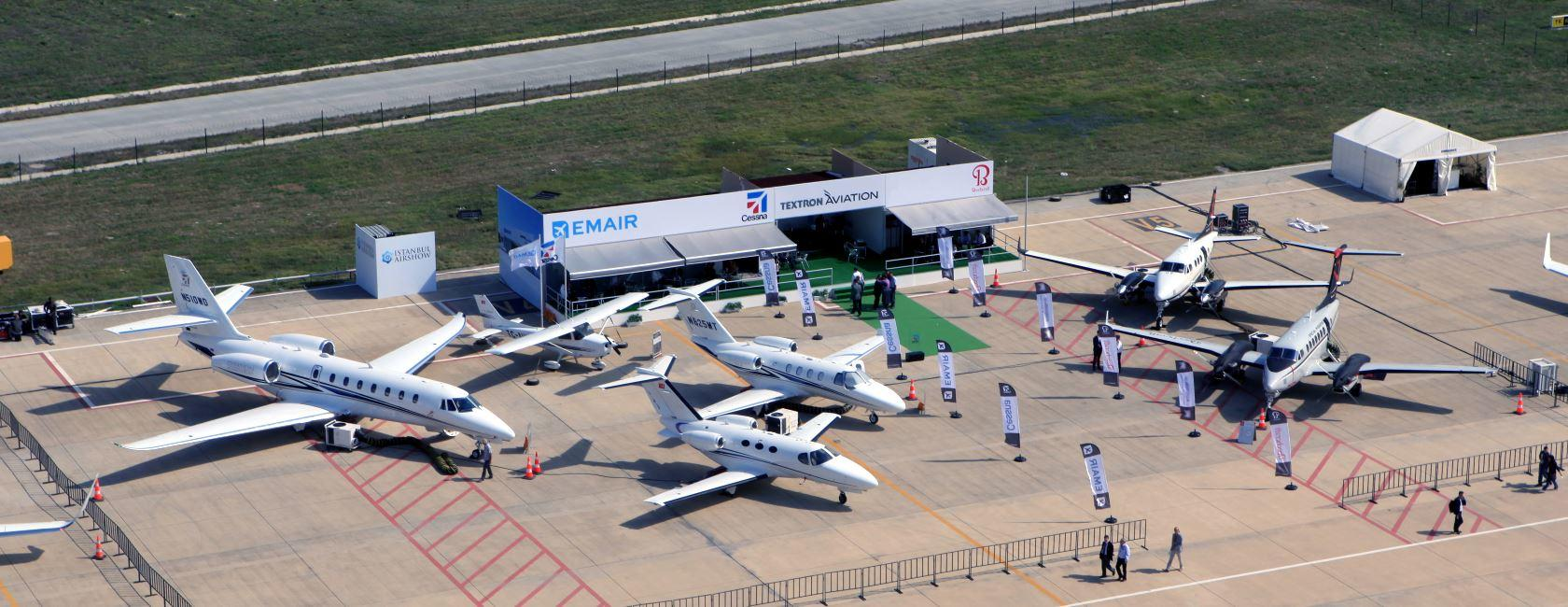EMAIR and Textron Aviation Exhibiting at Istanbul Airshow