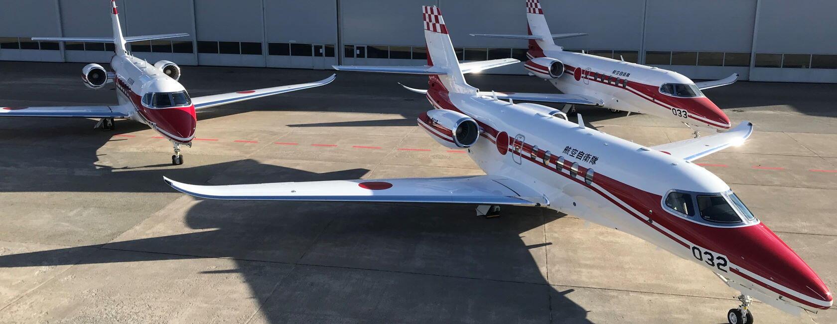 JASDF Flight Inspection Latitudes Enter Service