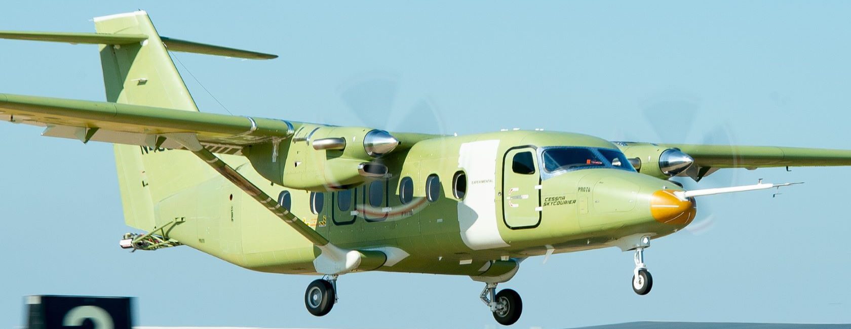 First Cessna SkyCourier Takes Flight
